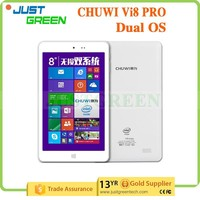 cheap Chuwi vi8 pro 8 inch IPS 1280*800 Win8.1 and Android 4.4.4 tablet pc Intel Z3736F 64 bit Quad Core android tablet