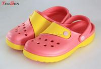 2014 popular cheap wholesale soft free comfortable durable eva injection women beach sandals garden clogs casual shoes