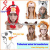 2015 Winter 100+ Styles Wolf Husky Panda Plush Animal Hats With Scarf