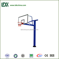 Exercise and body building professional underground stainless steel basketball stand