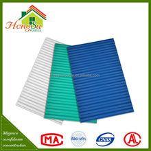 High quality products lamination corrugated roofing pvc sheet