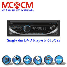 Single din 1 Din Universal Car DVD CD player Car radio Car stereo audio factory Private design