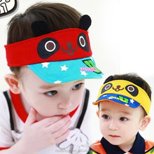Wholesale New Panda Children Sun Visor Cap