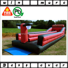 bungee run basketball,inflatable bungee running game ,2 lane inflatable bungee run fpr sale