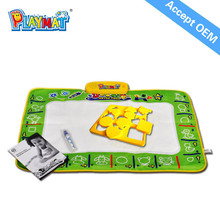 Best Educational Toys Safe Non-toxic Aqua Doodle Mat,Musical Playmat EN71 RHOS 6P AZO
