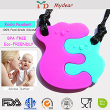 100% Food Grade Silicone Koala Teether Pendant wholesale