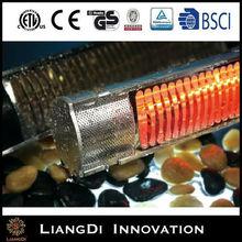 Elegant Energy Saving Freestanding Vertical Waterproof IP65 Garden Electric Patio Heater