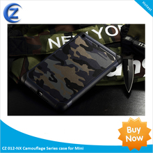best selling Camouflage Genuine Leather Case FOR mini