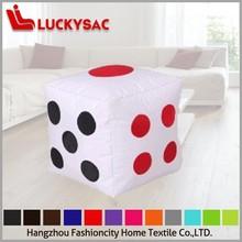 cube modern bean bag sofa stool dice bean bag chair