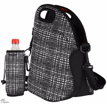Neoprene lunch tote bag insulated cooler bag