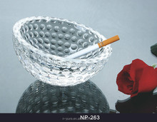 Promotional High Quality Crystal Glass Ashtray