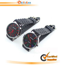 Customzied and fashion high good quality silicon watches