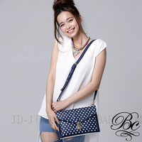 BELLUCY cutie dots golden chain young lady fashion bag