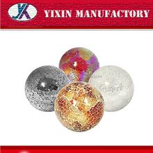 Promoción decorativo coloreado mosaico de vidrio bolas de espuma de poliestireno