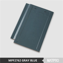 new wave soundproof blue glazed kerala ceramic roofing