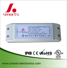 UL approved 24v Triac Dimmable Led Driver 12w for led strip