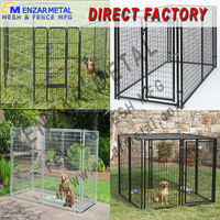 dog cages/welded wire mesh/welded wire mesh for pet cages (Anping factory)