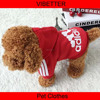 H104 wholesale fashion winter pet apparel dog clothes,cute dog coat with hoodies addidog