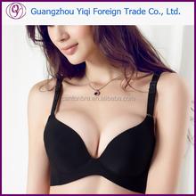 2015 New Special one-piece seamless bra vs push up Breathable bra set women Underwear Suit