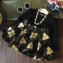 MS20034Z European new design girl party wear western birthday dress fashion design small girls dress