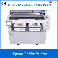 a3 hot sell digital cotton flatbed t-shirt Printer