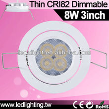 osram 8w led downlights vs halogen 3inch downlight
