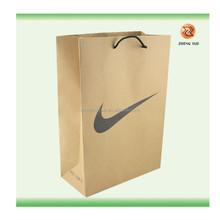 Brown kraft paper bags with twisted handles wholesale /kraft paper wine bag:Custom Cheap Handmade Gift Paper Bag