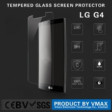 OEM/ODM For LG G4 9h 2.5D 0.2mm ultra thin tempered glass screen protector protective film free sample