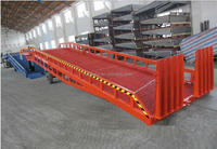 Ajustable Hydraulic Car Loading Ramp