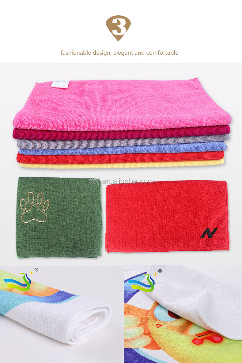 soft and thin microfiber towels