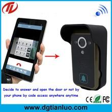 2 IR lamps Night vision wifi video doorbell smart phone use