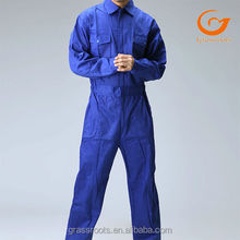 Overalls Cotton Customized Male Workwear Working Uniform in Guangzhou Garment Factory