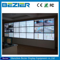 newest LG 42 inch electronic product advertising narrow bezel 20mm interactive LED backlight with free video wall controller