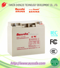 Factory direct sale AUSSDA 12V UPS storage battery ,varl battery