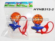Finger plastic basketball top