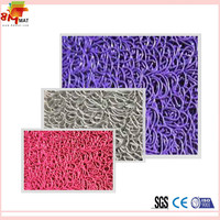 pvc backed coil flooring cover