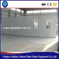 High qulity and low cost prefab container house 2015 dubai container house