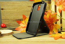 Top quality Flip Vertical Wallet Mobile Phone Case for Samsung Galaxy S5 With Stand