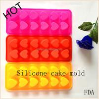 wholesale HOT Selling FDA grade heart Shaped silicone Wedding Cake Mould Decoration baking equipment Ice/Cake/Chocolate/Sugar