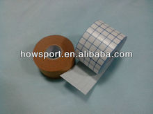 Highly conformable adhesive fabric tape with a low allergy adhesive ( S )