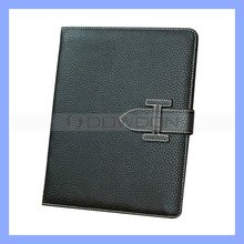 Fashion PU Leather Case for Apple iPad 2 3 The New iPad Folio Stand Protective Case Cover