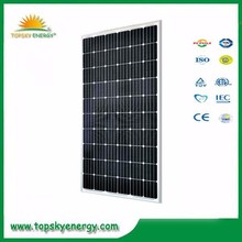 280w 60pcs 37.6V-38.8V 8.96A-9.53A cheap mono grade A best prices per watt of solar panel made in China 275w,270w,265w,260w,255
