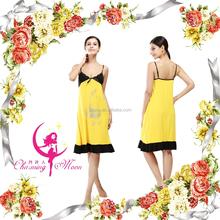 2015 underwear hot lady's sleepwear apple viscose comfortabale nightdress good quality