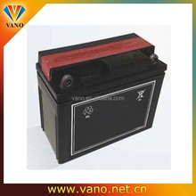 Dry charged motorcycle battery 138*65*100 12v 6.5ah motorcycle battery