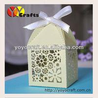 chrismas laser cut candy boxes laser cut christmas gift favor box christmas chocolate box 150PCS/LOT