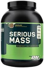 Optimum Nutrition Serious Mass, Rich Chocolate - 12 lbs (5455 g)