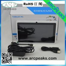 q88 7 inch tablet pc capacitive digitizer