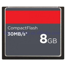 CF1 compact flash 8gb cf memory card with 30MB/S