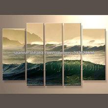 moderna popular decorativos pintura hecha a mano diseño de la foto