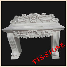 White Stone Carving Basin